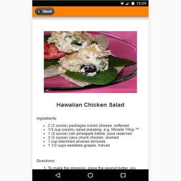 New Chicken Salad Recipes apk screenshot