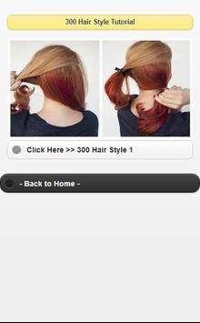 300 Hair Style Tutorial screenshot 14