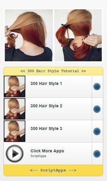 300 Hair Style Tutorial screenshot 1