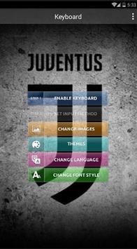 New Juventus Keyboard Fans poster