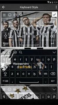 New Juventus Keyboard Fans screenshot 1