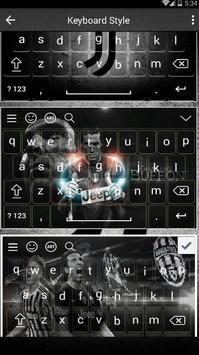 New Juventus Keyboard Fans screenshot 2