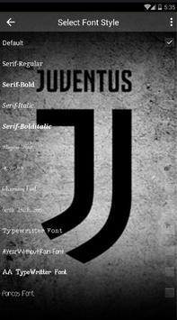 New Juventus Keyboard Fans screenshot 3