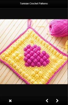 Tunisian Crochet Patterns poster
