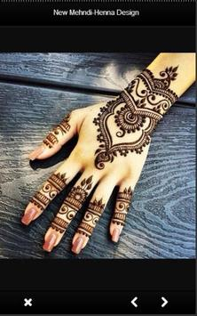New Mehndi - Henna Designs poster