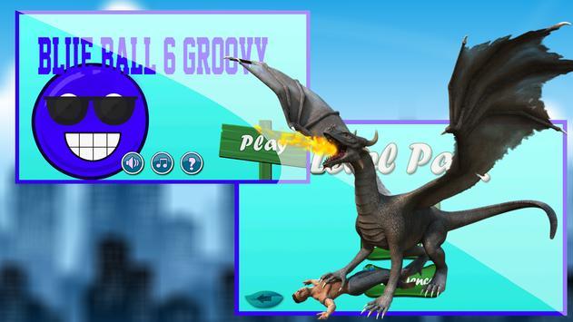 blue ball 6 groovy apk screenshot