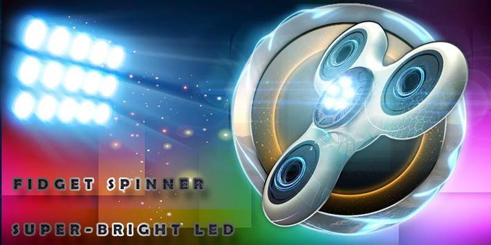Fidget Spinner Super-Bright LED screenshot 1