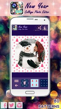 New Year Collage Photo Editor apk screenshot