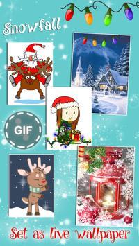 Christmas Live Wallpaper with Sound 🎄 Animated screenshot 1