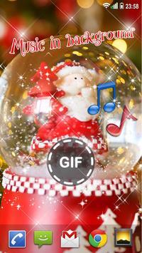 Christmas Live Wallpaper with Sound 🎄 Animated screenshot 3