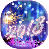 Happy New Year Wallpaper 2019 – Holiday Background icon