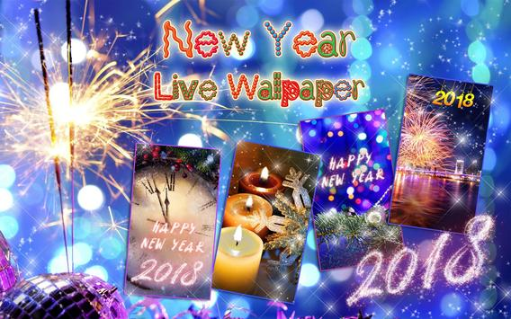 Happy New Year Wallpaper 2018 - Holiday Background apk screenshot