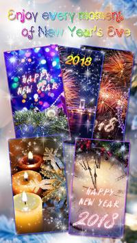 Happy New Year Wallpaper 2019 – Holiday Background screenshot 1