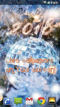 Happy New Year Wallpaper 2019 – Holiday Background screenshot 2