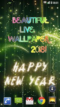 Happy New Year Wallpaper 2019 – Holiday Background screenshot 3