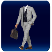 New York Men Suit Photomontage icon