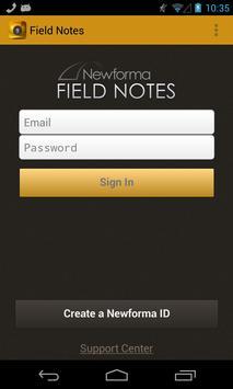 Field Notes apk screenshot
