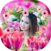 Cute Flower Photo Frames icon