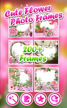 Cute Flower Photo Frames screenshot 1