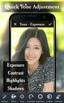 Selfie Overlay Photo Editor poster