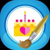 Happy Birthday Photo Editor+ icon