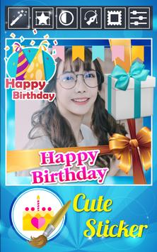 Happy Birthday Photo Editor+ screenshot 3