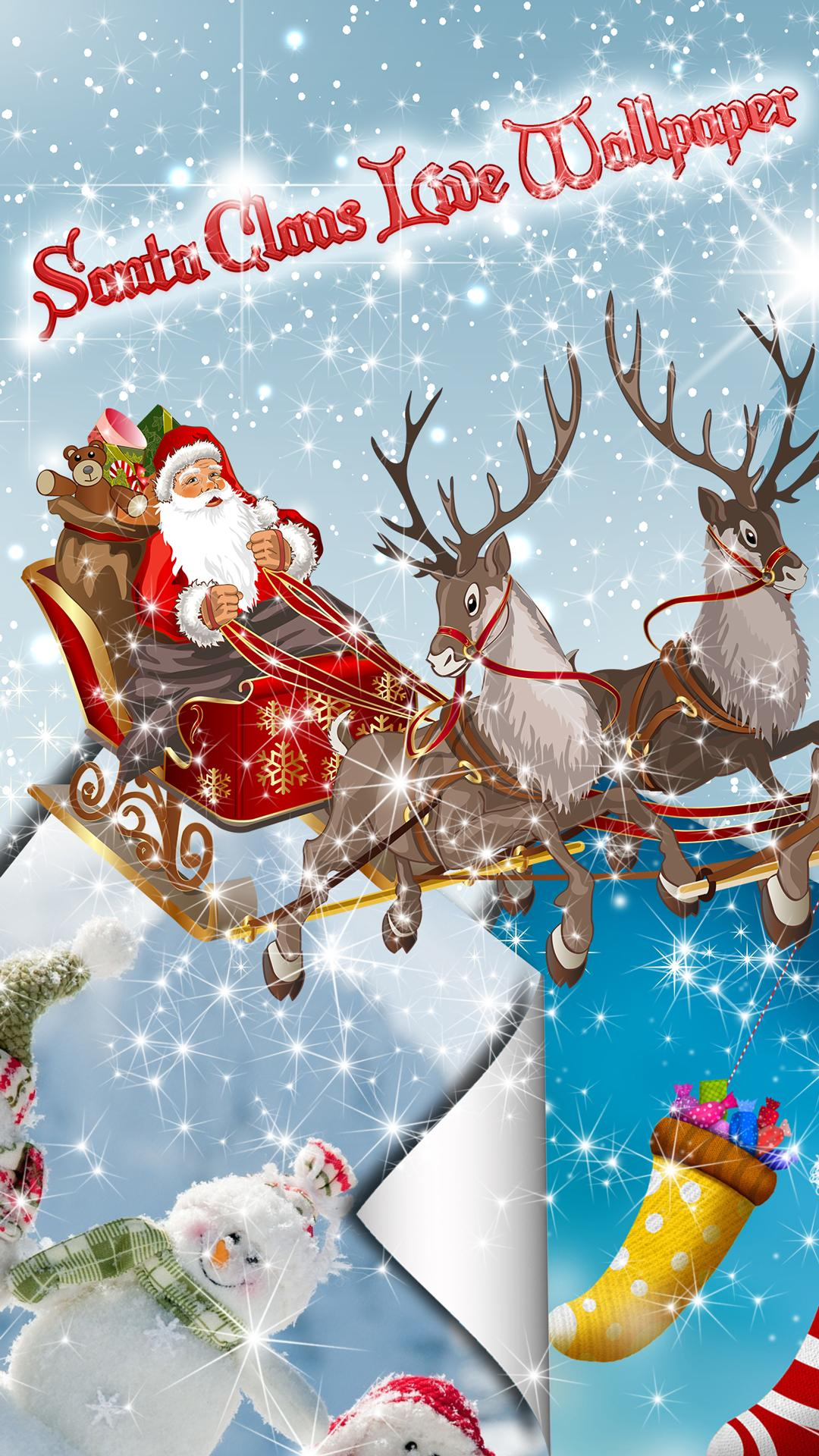 Santa Claus Live Wallpaper For Android Apk Download