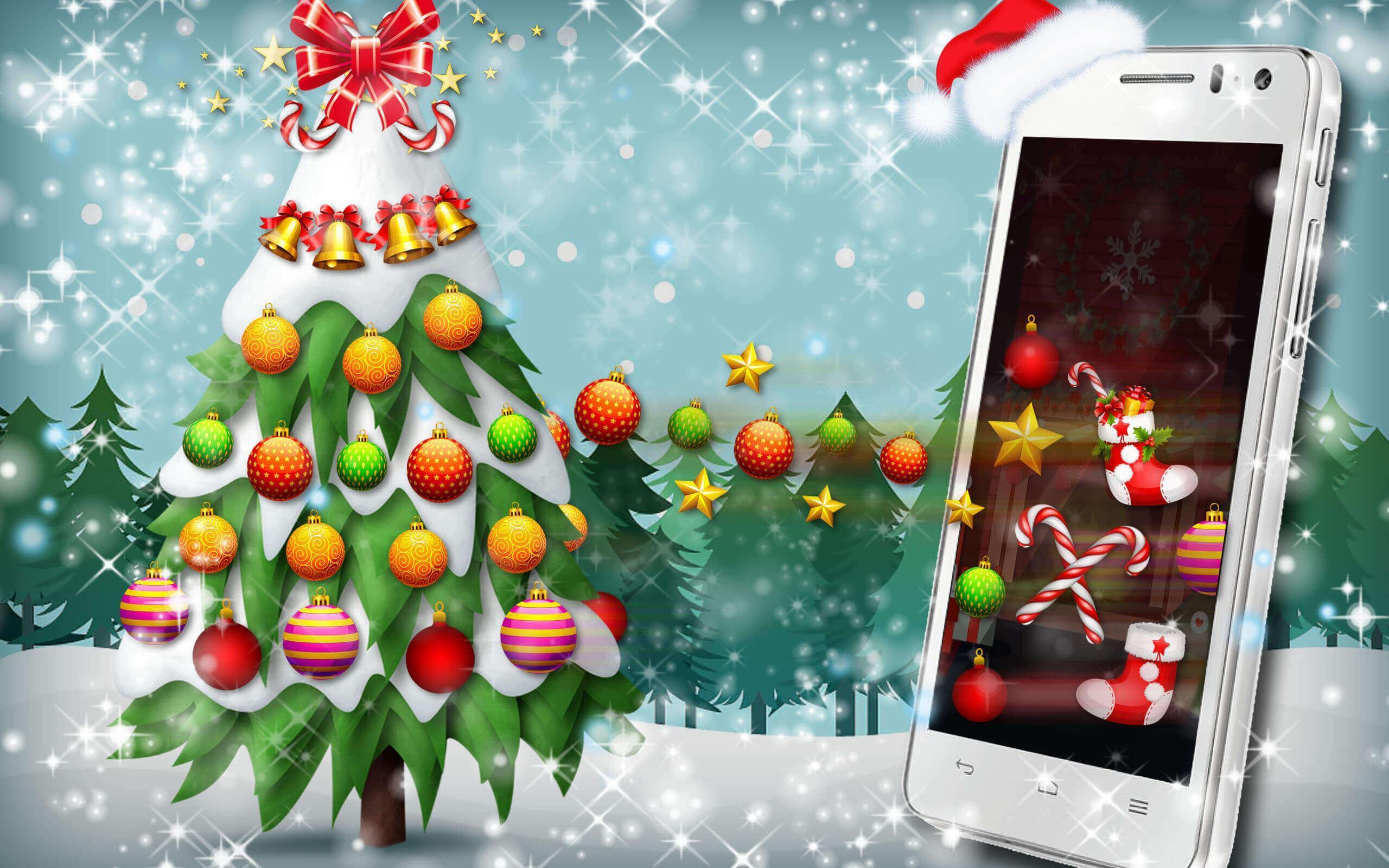 Weihnachtsbaum Spiele.Weihnachtsbaum Schmücken Dekoration Spiele Für Android Apk