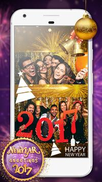 New Year Greetings 2017 poster