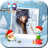 New Year and Christmas Photo Frames - Photo Editor icon
