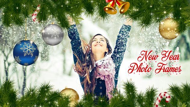 New Year and Christmas Photo Frames - Photo Editor screenshot 4