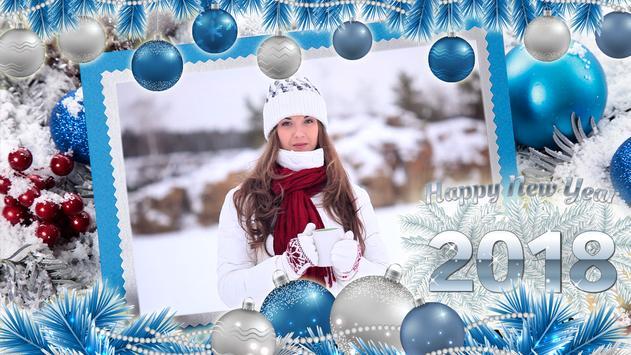 New Year and Christmas Photo Frames - Photo Editor screenshot 7
