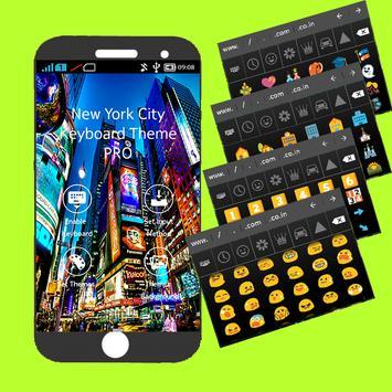 New York City Keyboard Theme PRO poster