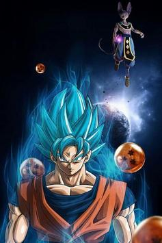 Best Goku Ultra Instinct Art Wallpaper poster