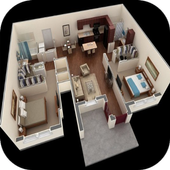 New 3D Home Plan Ideas icon