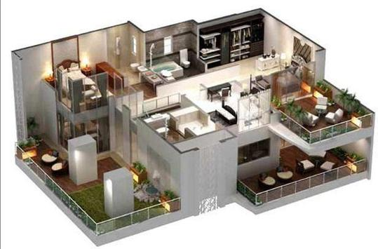 New 3D Home Plan Ideas poster