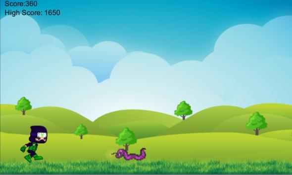 Ninja Run screenshot 1