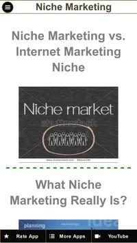 Niche Marketing Tips - Niche Marketing Strategy apk screenshot