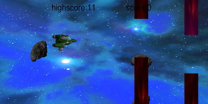Clumsy silly spaceship apk screenshot