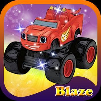 Blaze Hero Journey poster