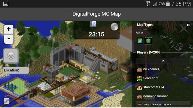 DF Map apk screenshot