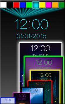 Night Digital Clock poster