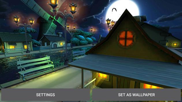 Fireflies Town Live Wallpaper apk screenshot