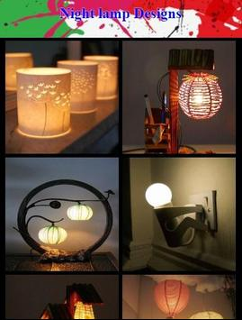 Night lamp Designs poster