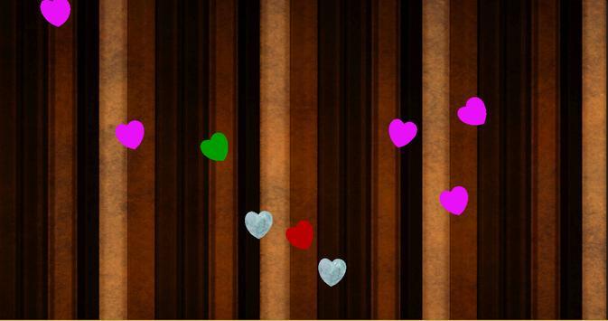 Falling Hearts Wallpaper screenshot 1