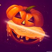 Halloween Pumpkin Slice icon