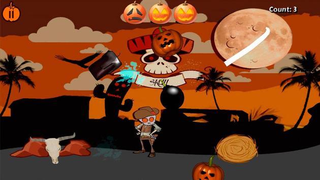 Halloween Pumpkin Slice poster