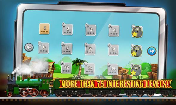 Puzzle Rail Rush apk screenshot