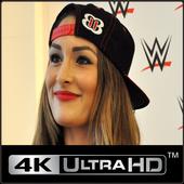 Nikki wwe Bella HD Wallpaper icon