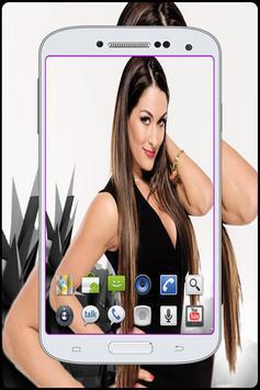 Nikki wwe Bella HD Wallpaper screenshot 1